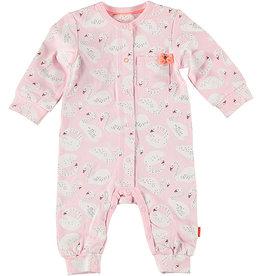 B.E.S.S. Suit AOP Swan, Pink
