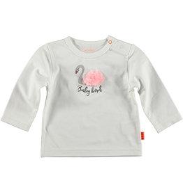B.E.S.S. Shirt l.sl. Swan Pompon, White
