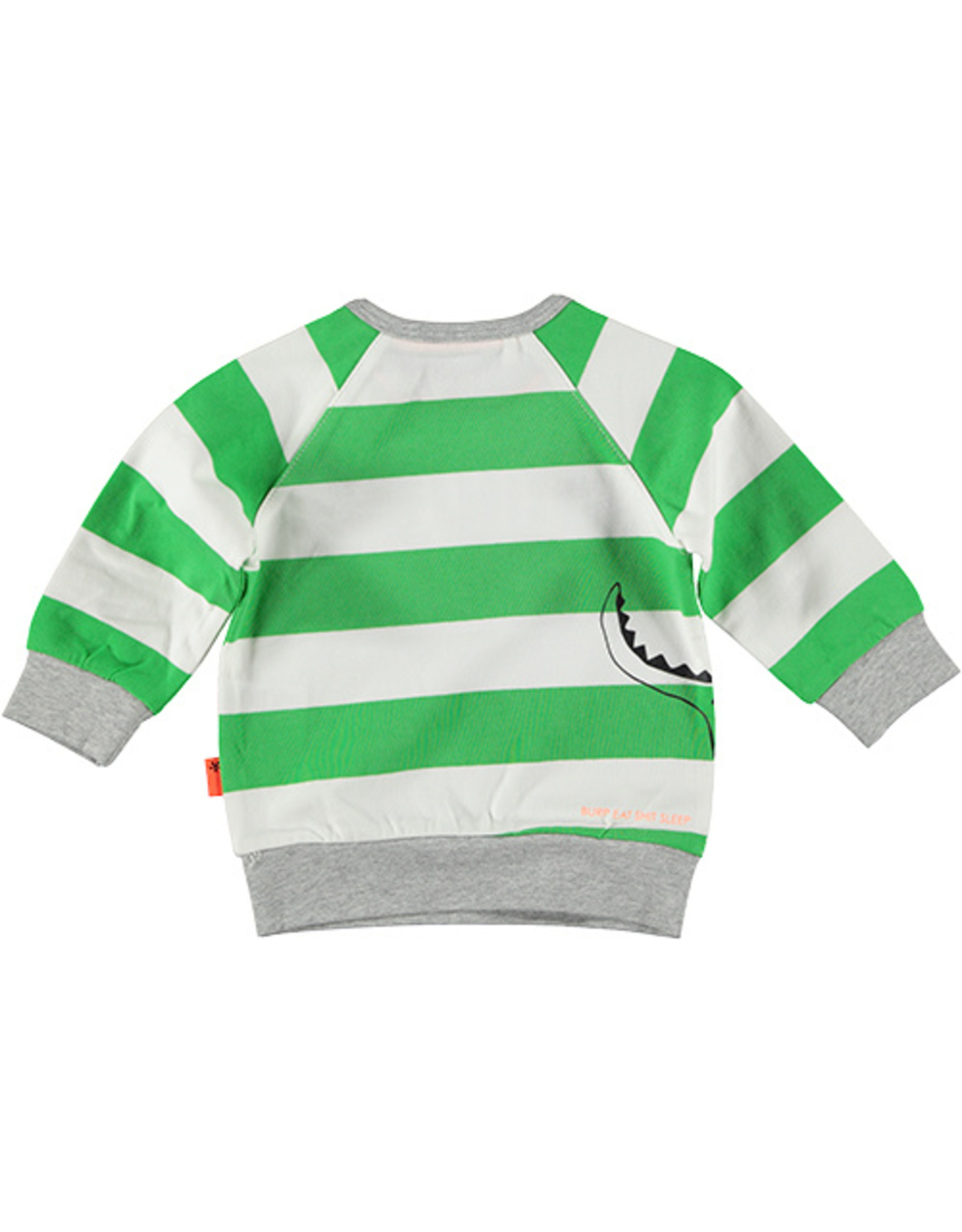B.E.S.S. Sweater Little Messmaker, White