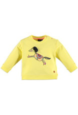 Babyface Girls sweatshirt YELLOW FAIR
