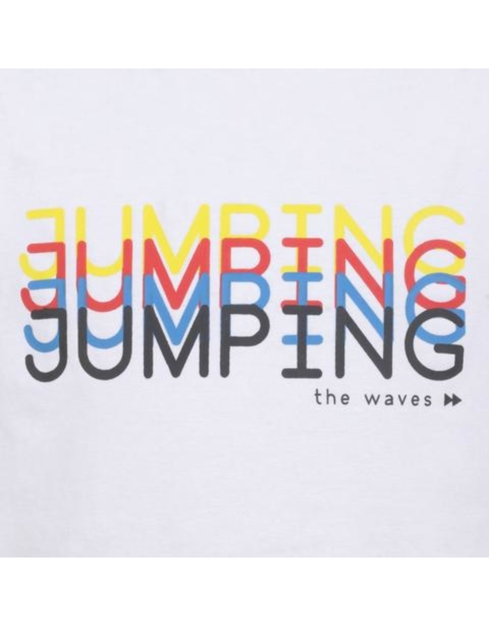 Jumping the Couch Shirt jumping-chill, WHT