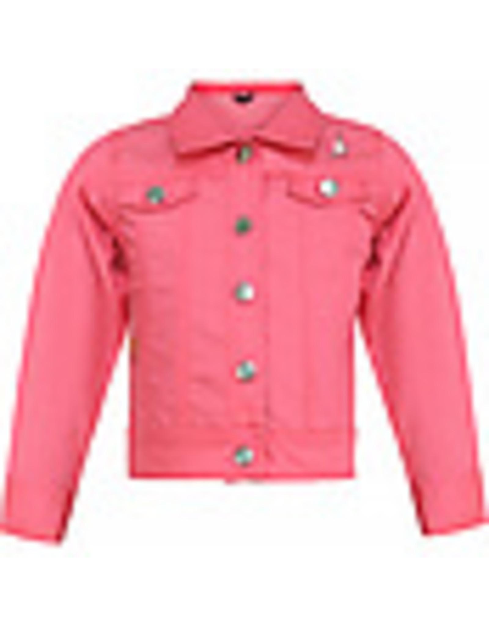 Beebielove Denim Jacket Pink, PNK