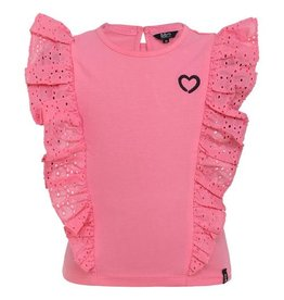 Beebielove Shirt Ruffle , PNK