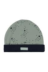Bampidano New Born bonnet allover print, soft green AO
