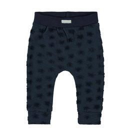 Bampidano New Born trousers plain, navy