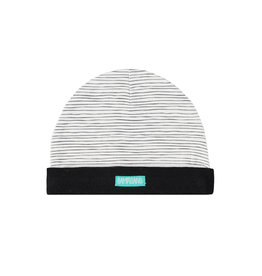 Bampidano New Born bonnet printed stripe, black/white stripe