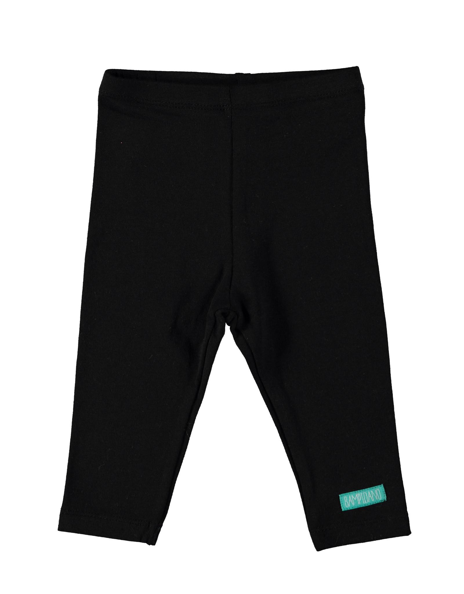 Bampidano New Born legging plain, black