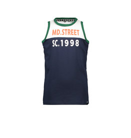 Moodstreet MT t-shirt sleeveless, Navy