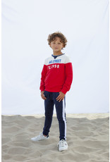 Moodstreet MT sweater cut&sewn, Red