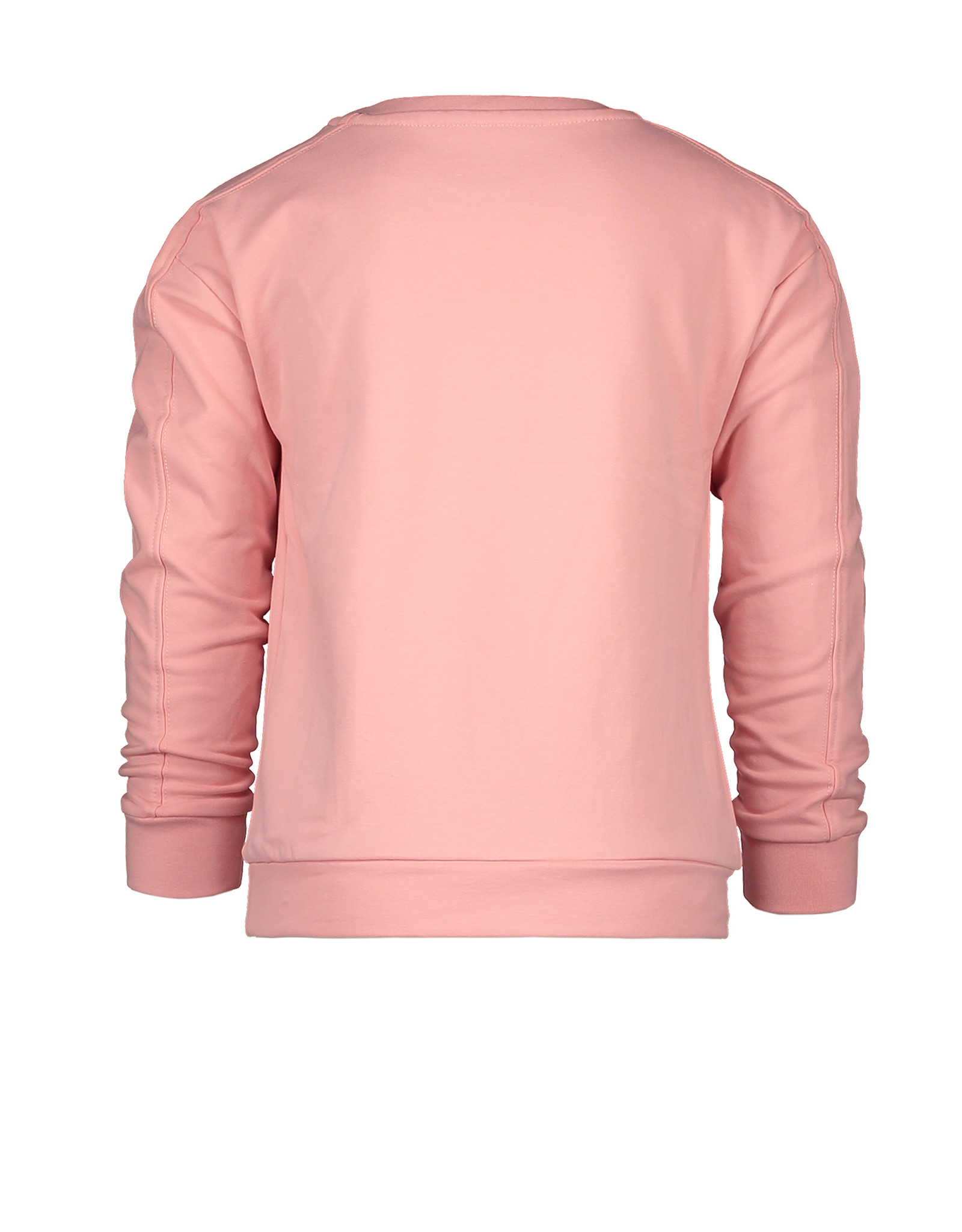 Moodstreet MT sweater with chest AW, Light pink