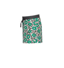 Moodstreet MT skirt AOP flower, Green