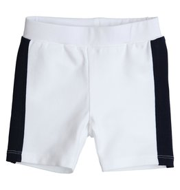 Gymp SHORTS - BICOLOR - AEROMAX - P, WIT/MARINE