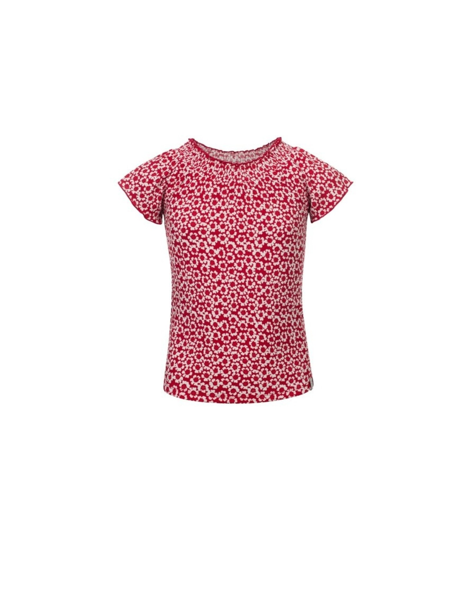 LOOXS Little Little woven top s.sleeve, Floral ao