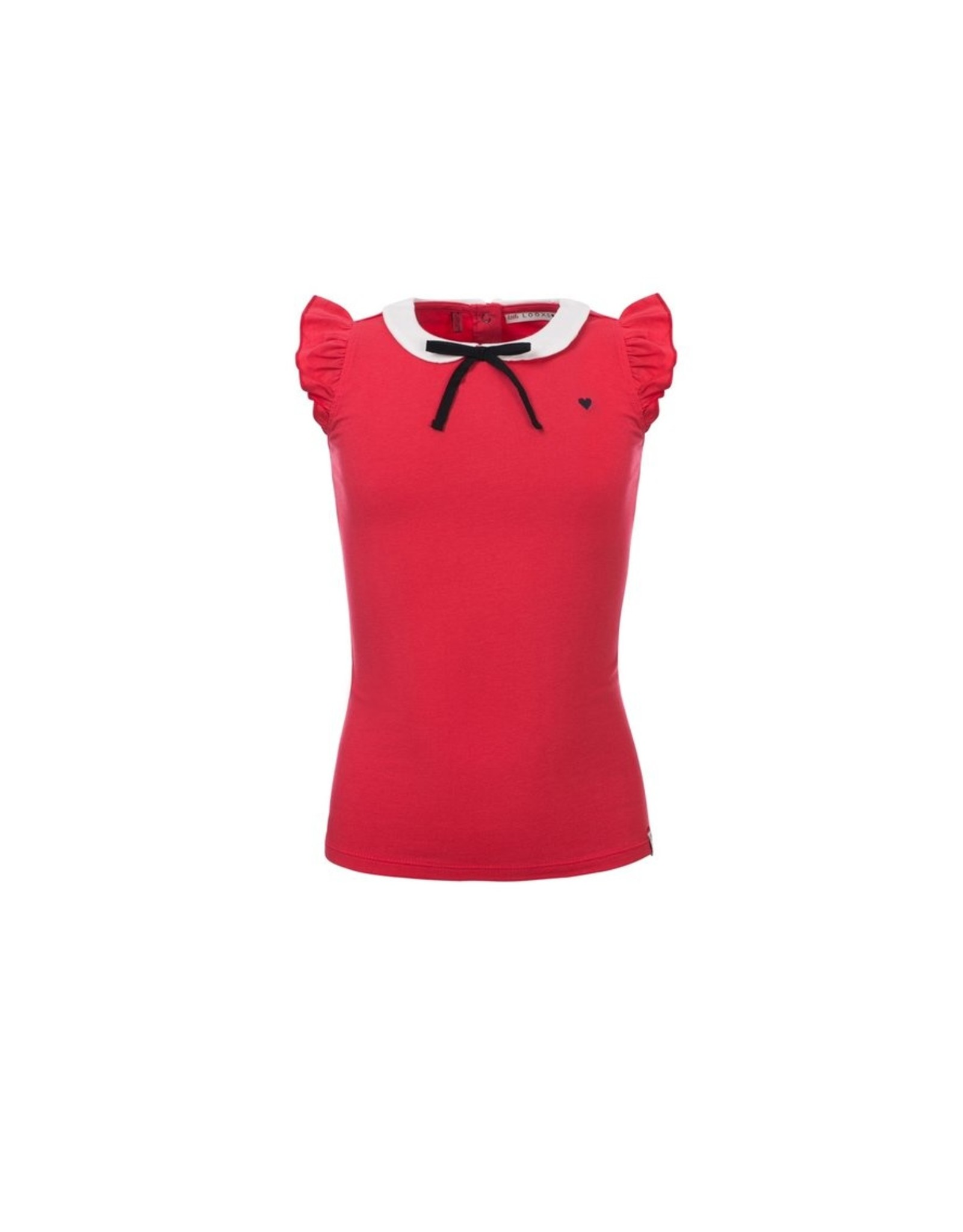 LOOXS Little Little top with collar, Rose