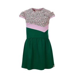 LOOXS Little Little combi dress ruffle, Jungle Cats AO