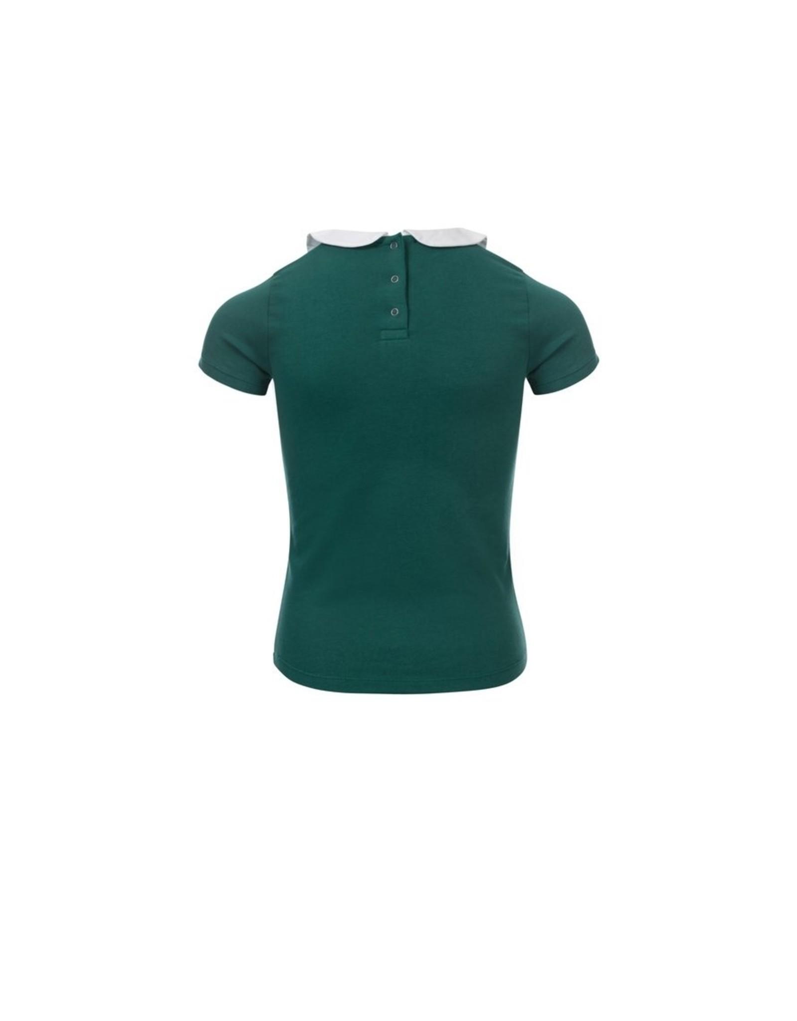 LOOXS Little Little collar t-shirt s.s, palm