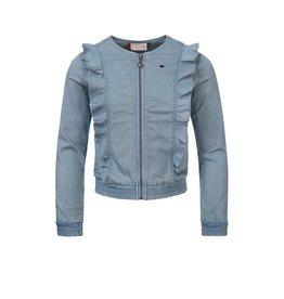 LOOXS Little Little denim jacket, chambray