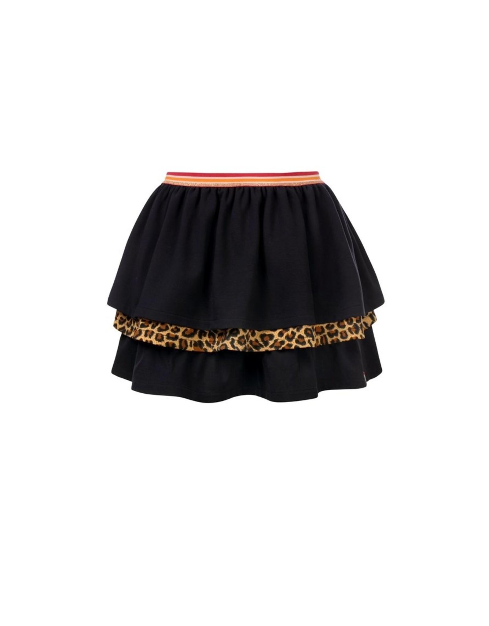 LOOXS Little Little 3 layered skirt, navy