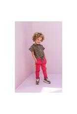 LOOXS Little Little sporty sweat pants, raspberry