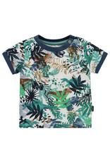 Noppies B Regular T-shirt ss Athens aop, Blanc de Blanc