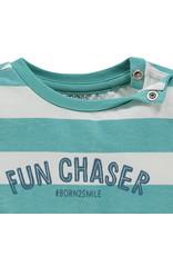 Noppies B Regular T-shirt ss Marshall str, Meadowbrook
