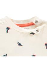 Noppies B Regular T-shirt ss Atascocita, Blanc de Blanc