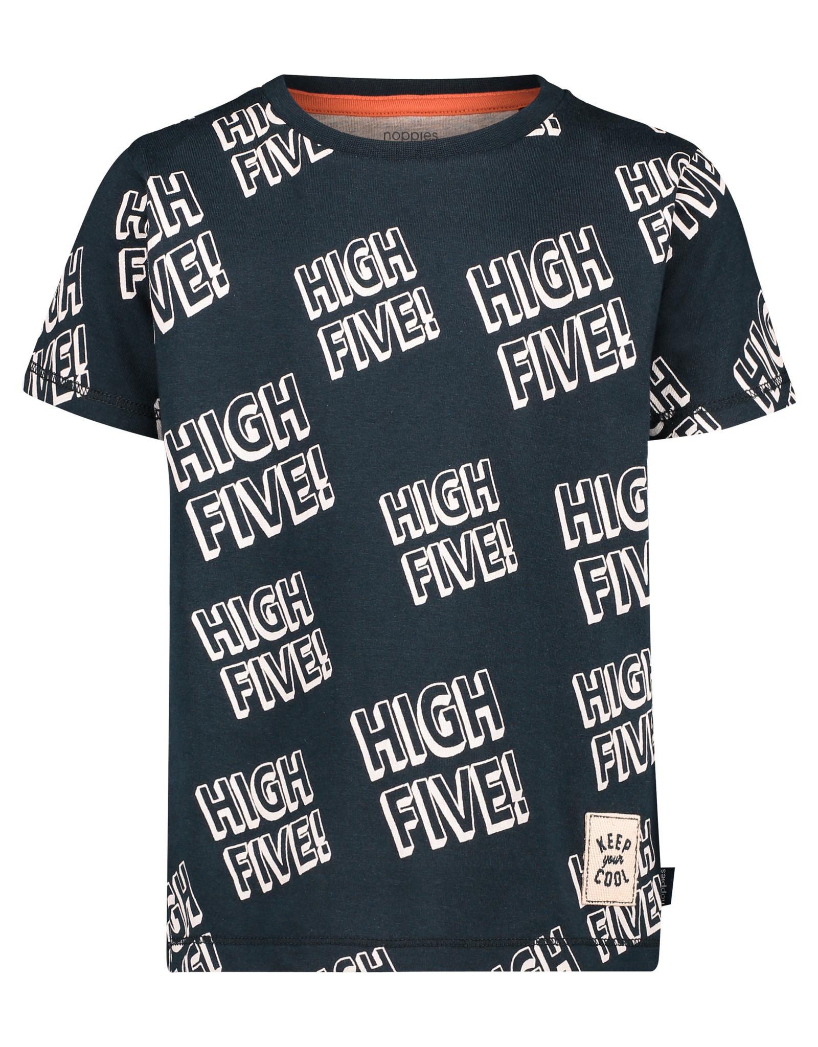 Noppies B Regular T-shirt ss Jacinto, Dark Sapphire