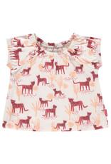 Noppies G Regular T-shirt ss Choctaw aop, Rouge Red