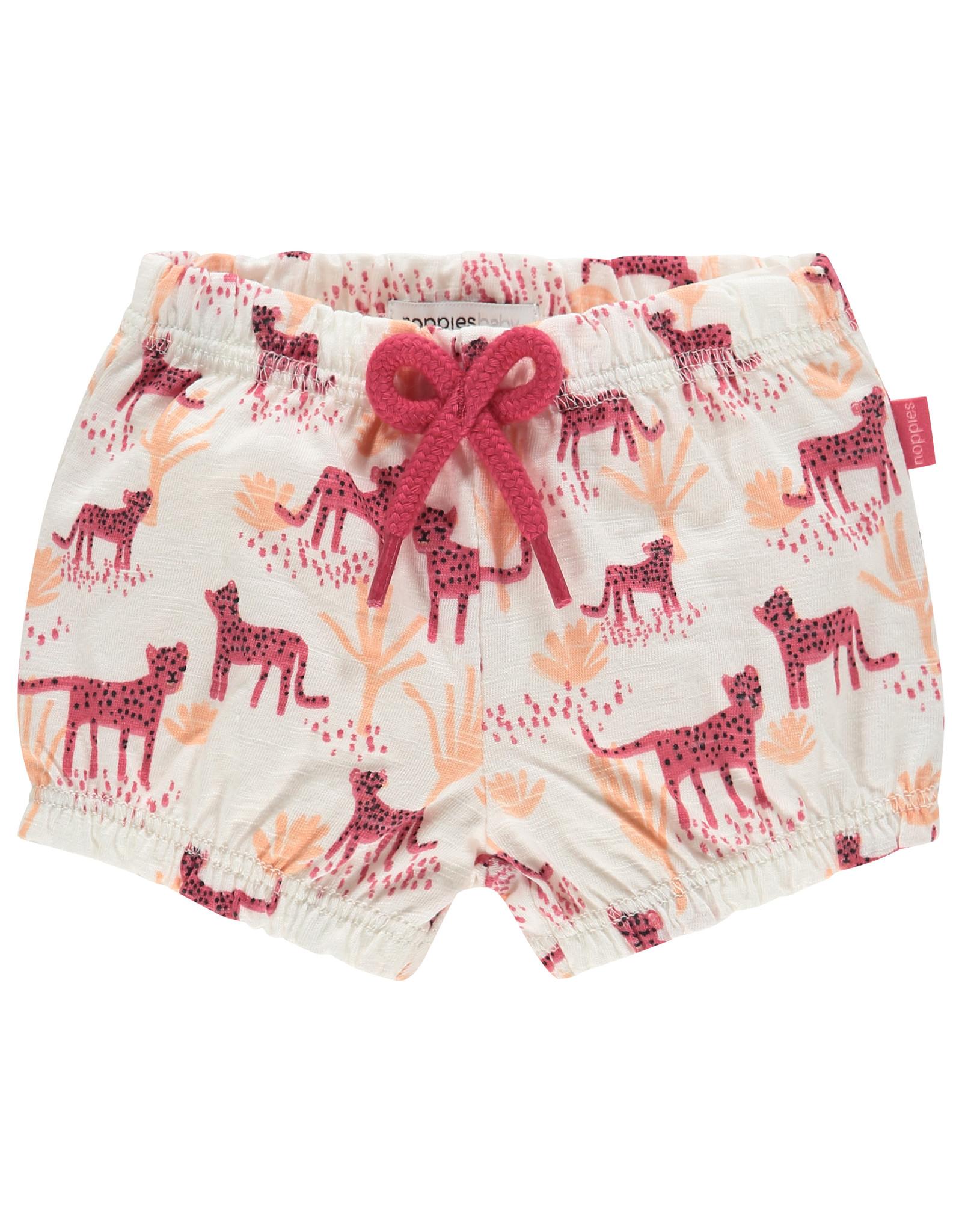 Noppies G Diaper short Cranston aop, Rouge Red