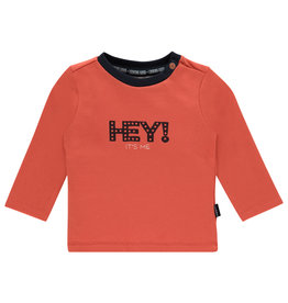 Noppies B Regular T-shirt ls Masonboro, Paprika