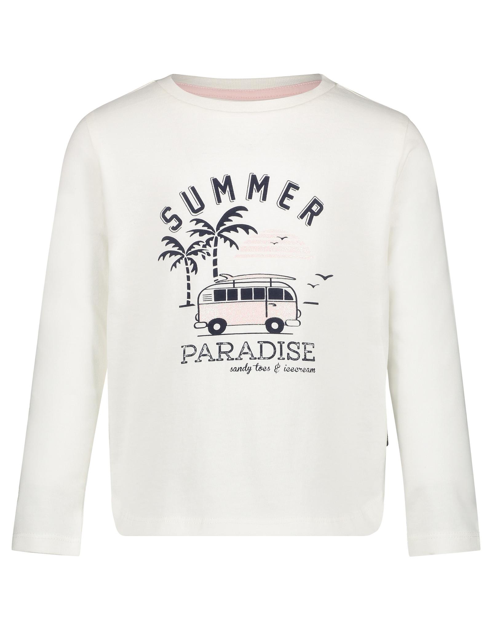 Noppies G Regular T-shirt ls Clemmons, Blanc de Blanc