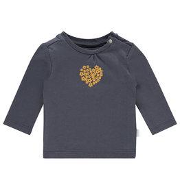 Noppies G Regular T-shirt ls Cabot, Ebony
