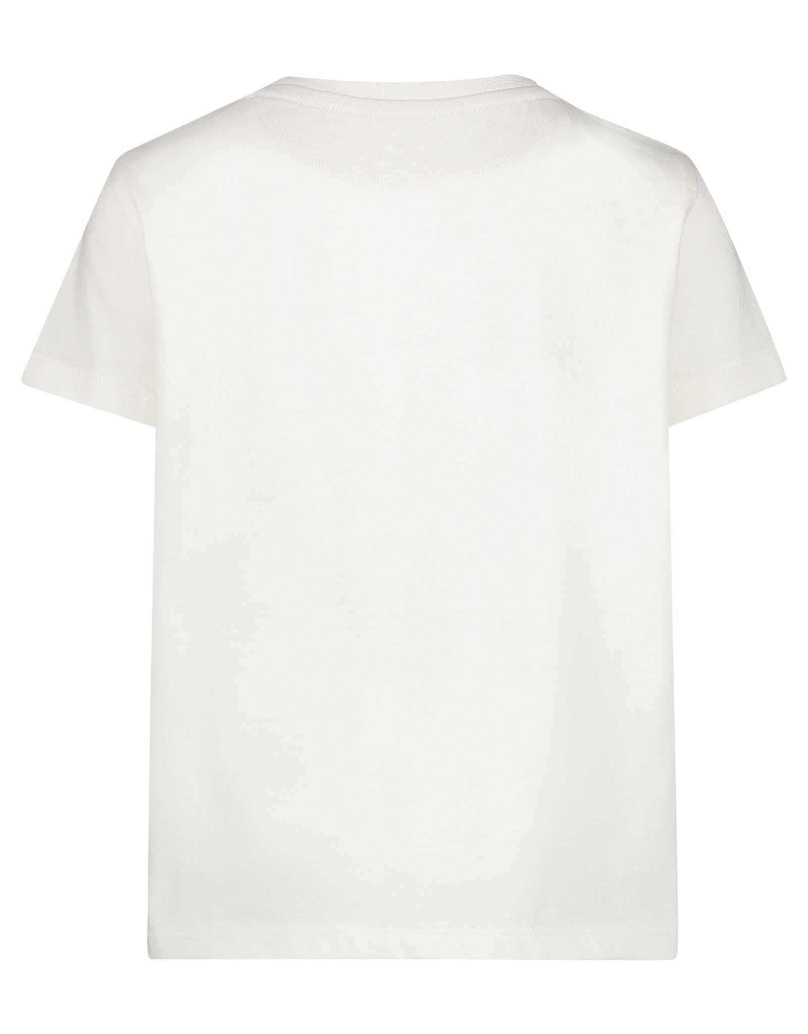 Noppies B Regular T-shirt ss Jennings, Blanc de Blanc