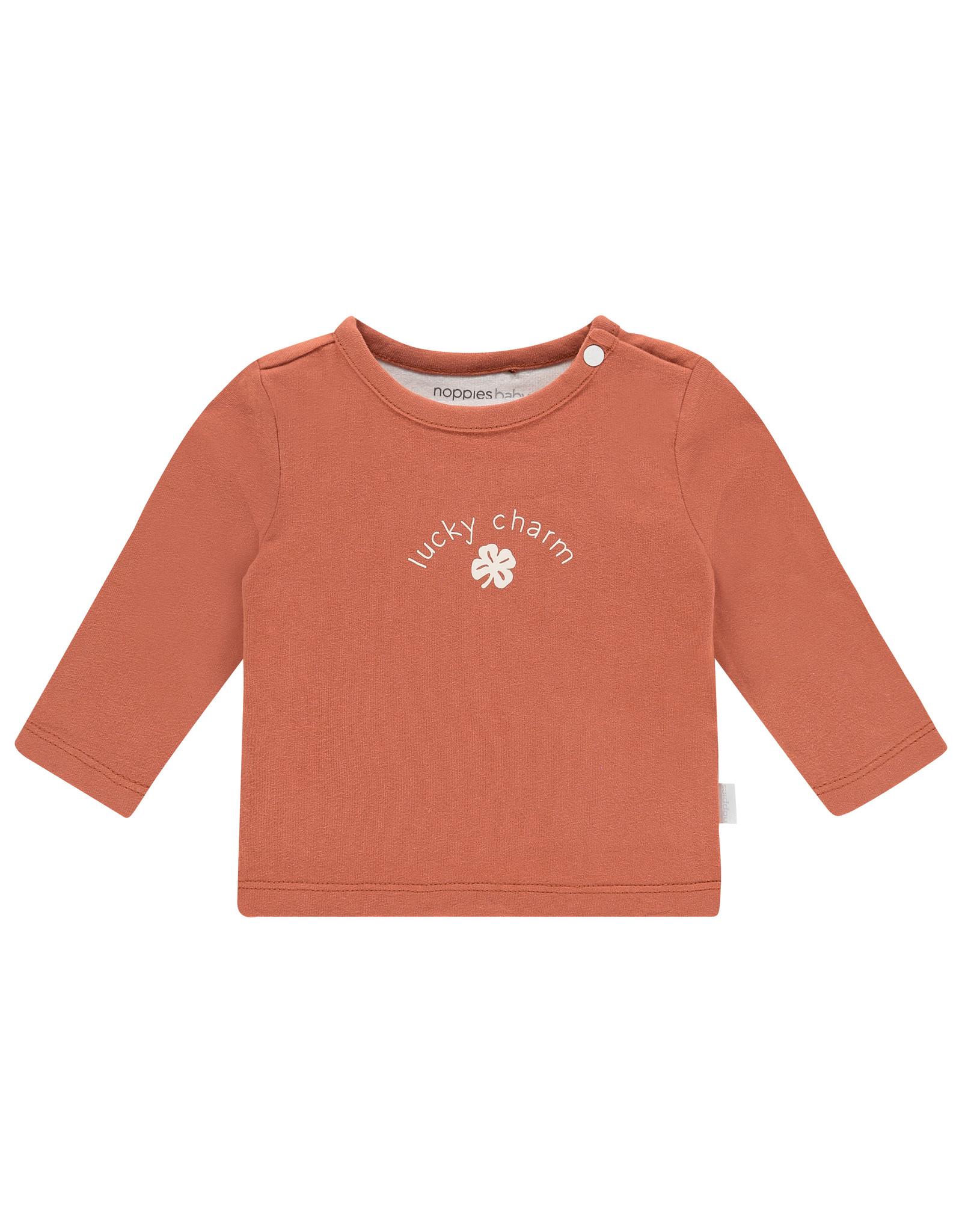 Noppies U T-shirt ls Alsira, Spicy Ginger