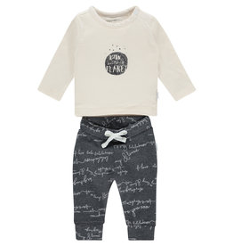 Noppies U Set Tee Pants Ashdod, Whisper White