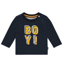 Noppies B Regular T-shirt ls Aventura aop, Dark Sapphire