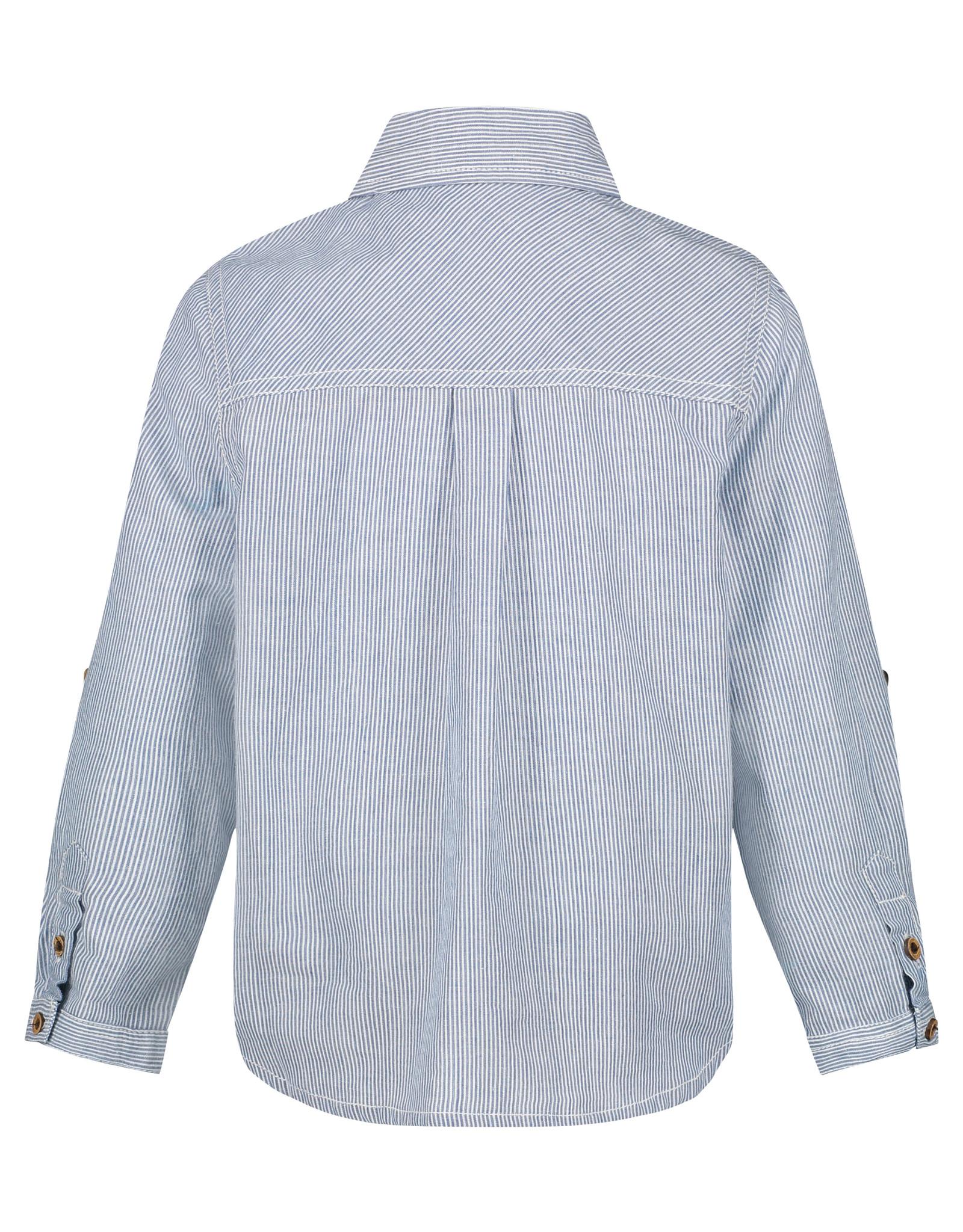 Noppies B Shirt ls Mims Y/D str, Blanc de Blanc