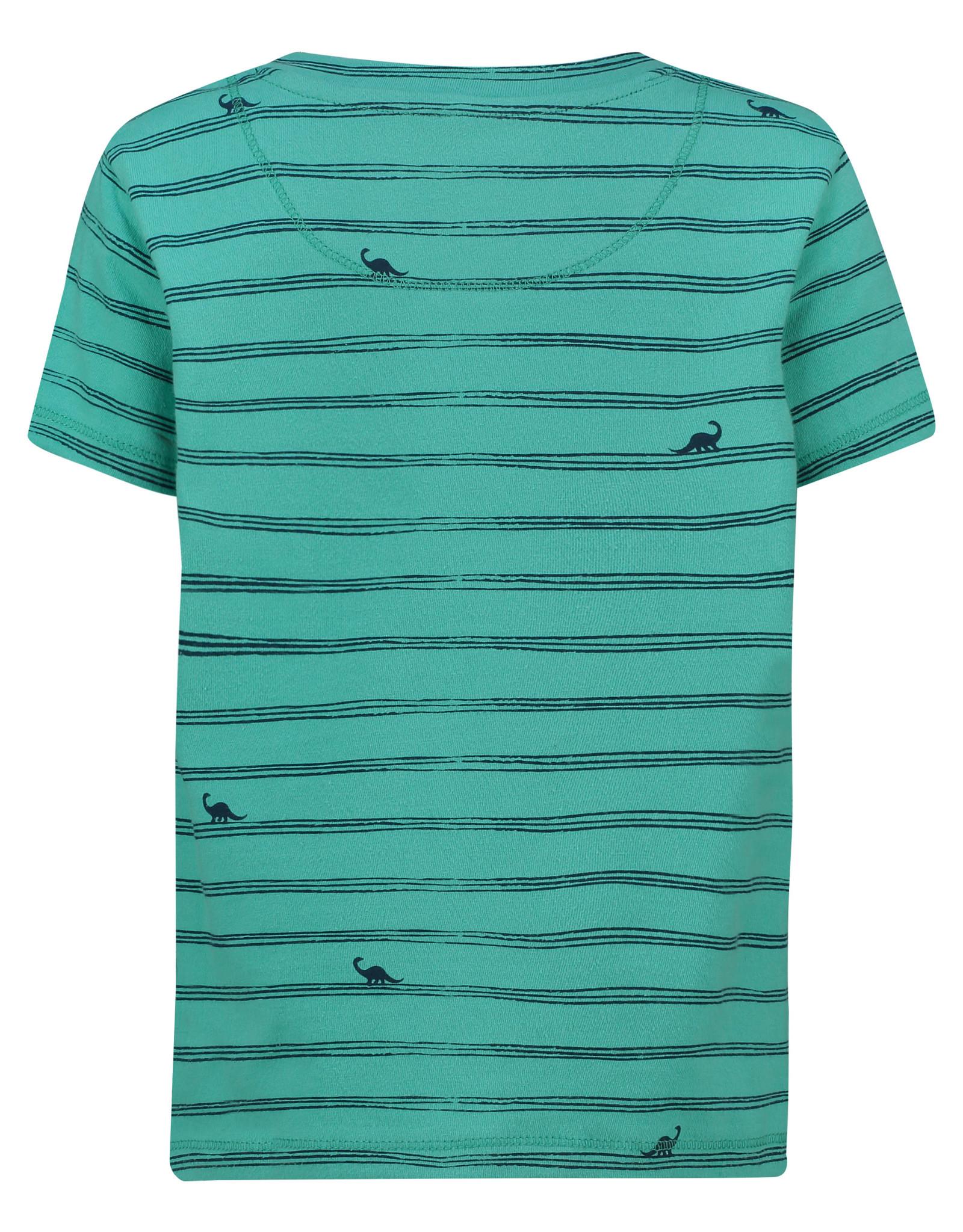 Noppies B Regular T-shirt ss Joplin aop, Lagoon