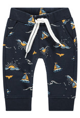 Noppies B Regular fit pants Astoria aop, Dark Sapphire