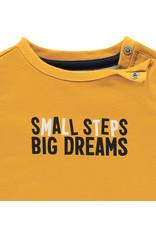 Noppies B Regular T-shirt ss Avenal, Mineral Yellow