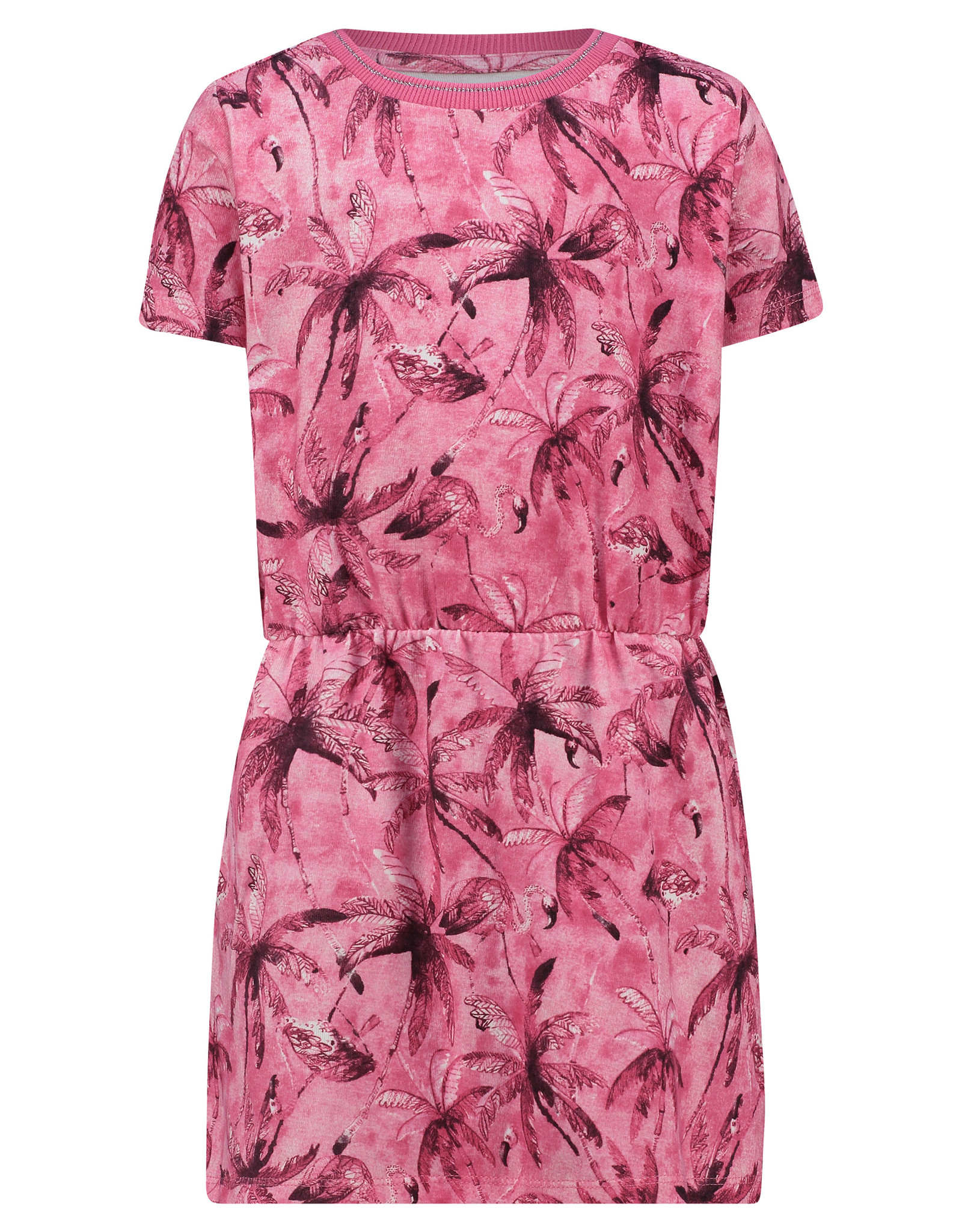 Noppies G Dress ss Clarksdale aop, Rouge Red