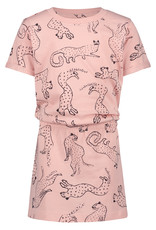 Noppies G Dress ss Clear Lake aop, Impatiens Pink