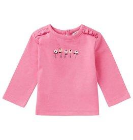 Noppies G Regular T-shirt ls Carter, Sachet Pink