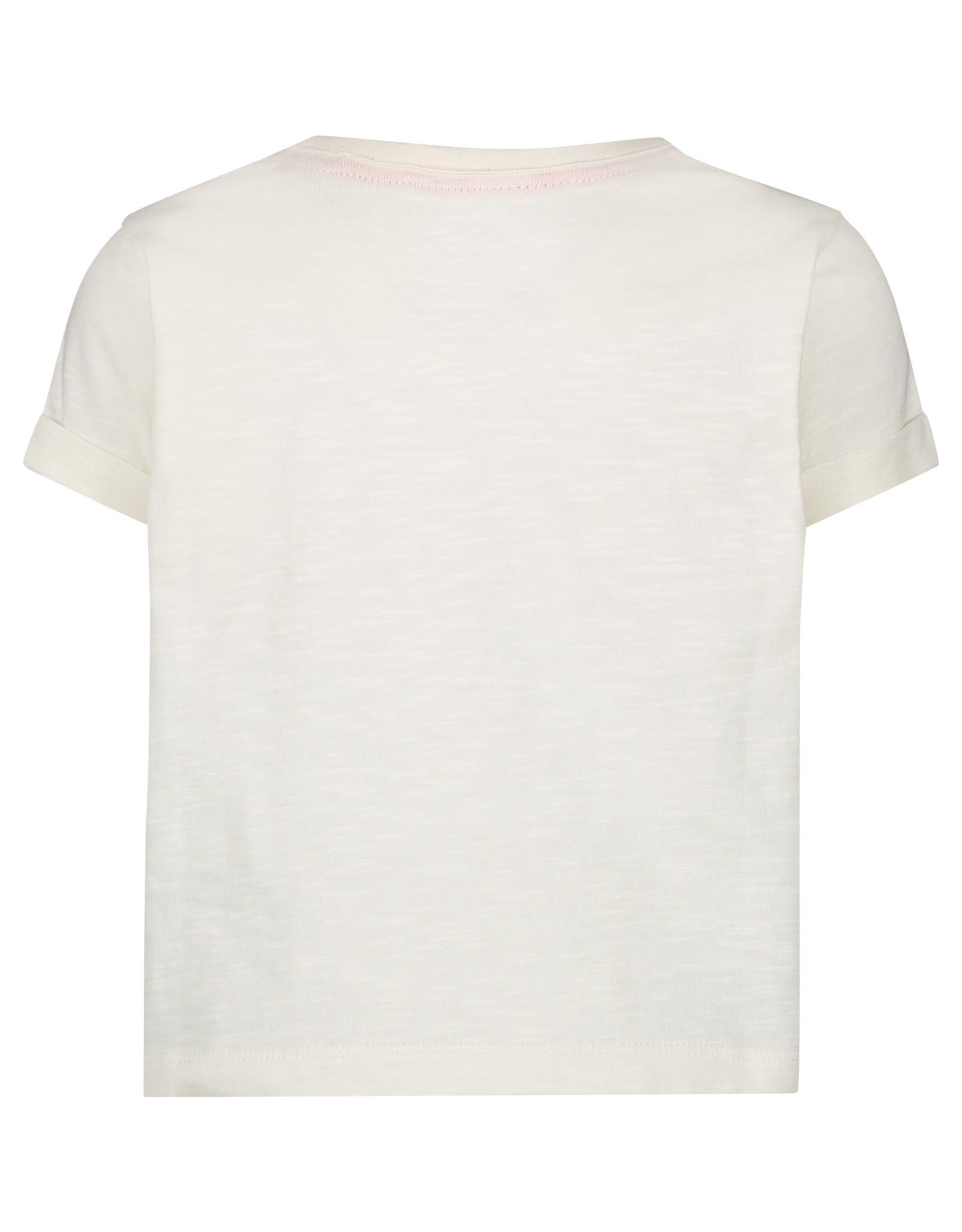 Noppies G Regular T-shirt ss Clewiston, Blanc de Blanc