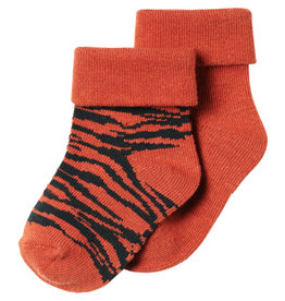Noppies U Socks 2 PCK Blanquillo, Spicy Ginger