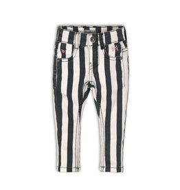 Koko Noko jeans, Stripes + black + white, 37C 34924