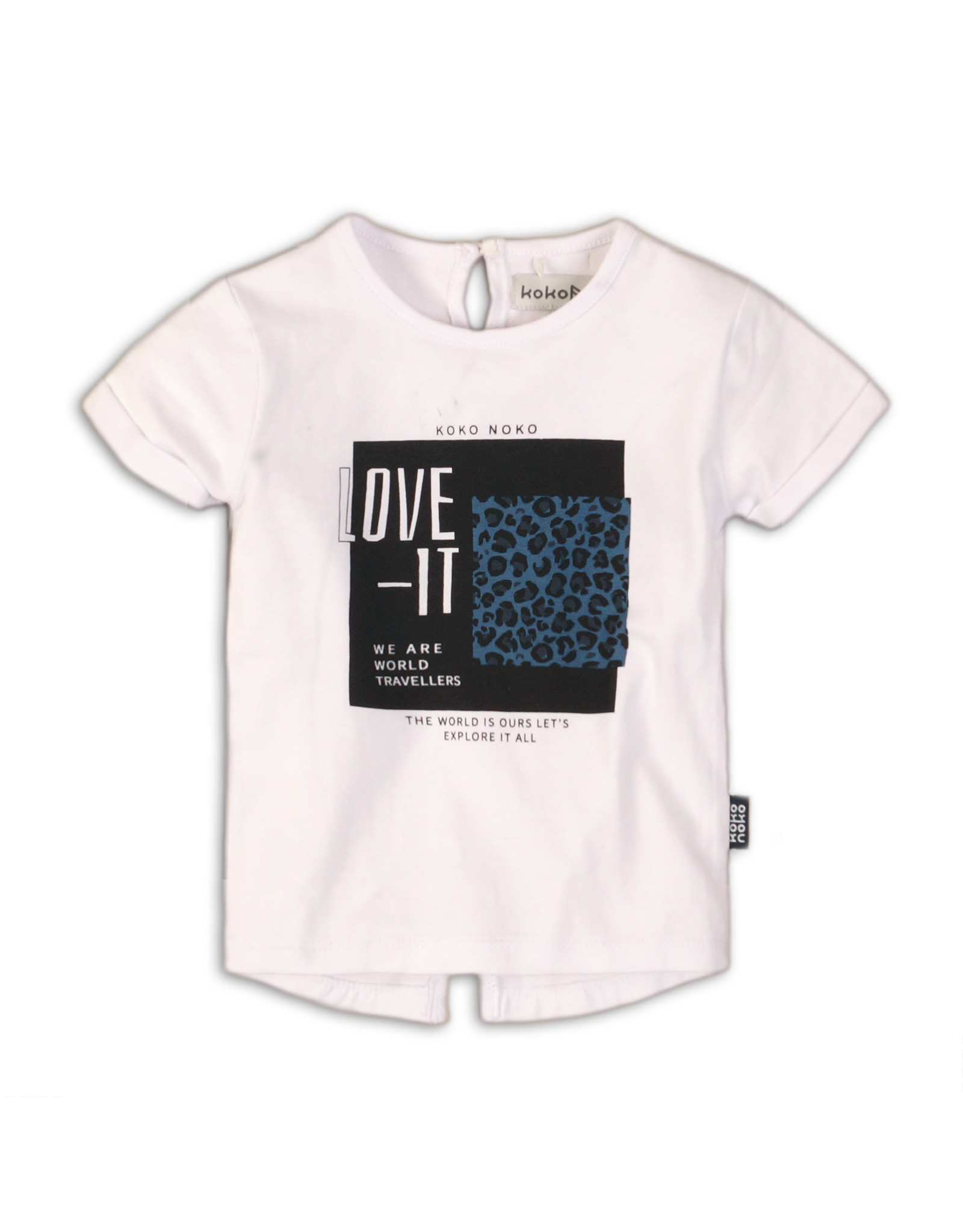 Koko Noko t shirt, black with white dots, 37C 34918