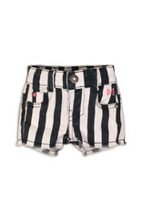Koko Noko shorts, Stripes + black + white, 37C 34917