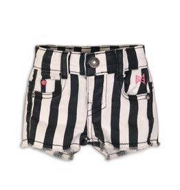 Koko Noko shorts, Stripes + black + white, 37C 34917