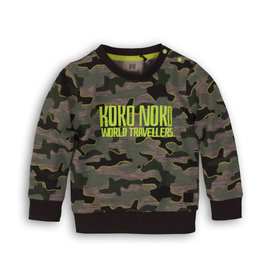 Koko Noko sweater, Army, 37C 34818